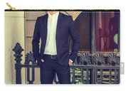 American Businessman With Beard Working In New York Carry-all Pouch