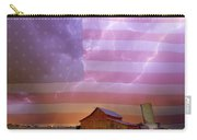 American Country Stormy Night Carry-all Pouch