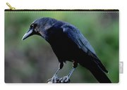 American Crow In Thought Carry-all Pouch