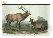 American Elk Carry-all Pouch