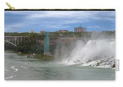 American Falls And Rainbow Bridge Carry-all Pouch