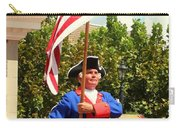 American Fife And Drum Corp Flag Carrier Carry-all Pouch