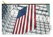 American Flag In Kennedy Library Atrium - 1982 Carry-all Pouch