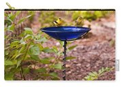 American Goldfinch At Water Bowl Carry-all Pouch