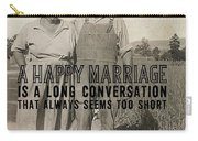 American Gothic Quote Carry-all Pouch