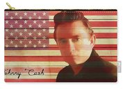 American Icon Johnny Cash Carry-all Pouch
