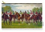 American Jockeys, 1889 Carry-all Pouch