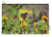 American Lady Butterfly Seaside Carry-all Pouch