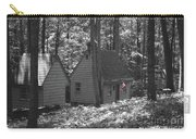 American Little House In The Woods Carry-all Pouch