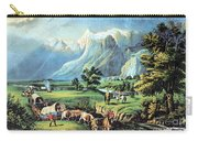 American Manifest Destiny, 19th Century Carry-all Pouch