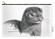 American Mink Carry-all Pouch