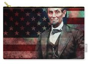 American President Abraham Lincoln 01 Carry-all Pouch