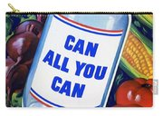 American Propaganda Poster Promoting Canned Food Carry-all Pouch