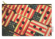 American Quilting Background Carry-all Pouch
