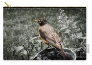 American Red Robin Carry-all Pouch