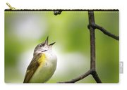 American Redstart Female 2 Carry-all Pouch