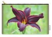 American Revolution With Vignette - Daylily Carry-all Pouch