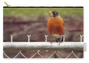 American Robin  In Spring          March            Indiana Carry-all Pouch