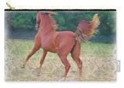 American Saddlebred Filly Carry-all Pouch