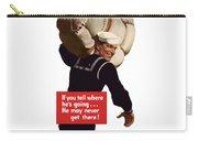 American Sailor -- Ww2 Propaganda Carry-all Pouch