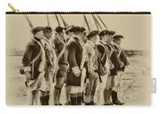 American Soldiers At Fort Mifflin Carry-all Pouch