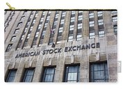 American Stock Exchange Building New York  Carry-all Pouch