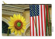 American Sunflower Carry-all Pouch