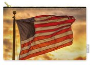 American Sunset On Fire Carry-all Pouch