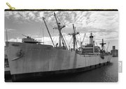 American Victory Ship Tampa Bay Carry-all Pouch by David Lee Thompson