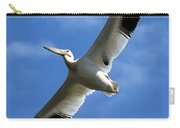 American White Pelican Wings Carry-all Pouch
