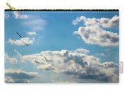 American White Pelicans Flying Carry-all Pouch