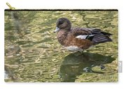 American Wigeon In Autumn Carry-all Pouch