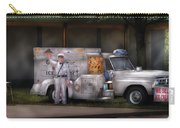 Americana -  We Sell Ice Cream Carry-all Pouch by Mike Savad