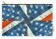 Americana Abstract Carry-all Pouch