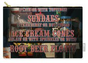 Americana - Food - Menu  Carry-all Pouch