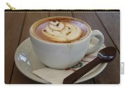 Americano Coffee With Tulip Design Carry-all Pouch