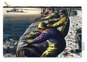 America's Fishing Fleet And Men  Carry-all Pouch by War Is Hell Store