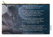 America's Team Poetry Art Carry-all Pouch by Stanley Mathis