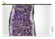 Amethyst Geode. Carry-all Pouch