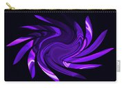 Amethyst Heart Sun Carry-all Pouch