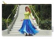 Ameynra Fashion. Petal Skirt. Model Sofia Carry-all Pouch
