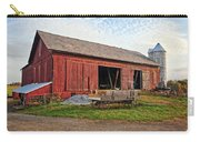 Amish Barn At Sunrise Carry-all Pouch