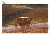 Amish Buggy Afternoon Sun Carry-all Pouch