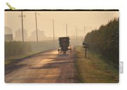 Amish Buggy And Corn Over Your Head Carry-all Pouch