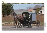 Amish Buggy And High Stepper Carry-all Pouch