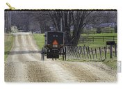 Amish Buggy March 2016 Carry-all Pouch