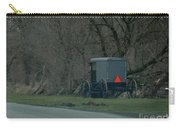 Amish Buggy Parked By A Creek Carry-all Pouch