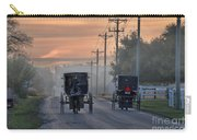 Amish Buggy Sunday Morning Carry-all Pouch