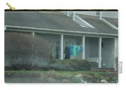 Amish Clothing Hanging To Dry Carry-all Pouch
