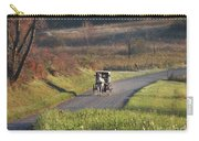 Amish Country Horse And Buggy In Autumn Carry-all Pouch